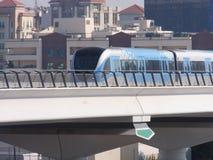 Dubai Metro Train in the UAE Stock Photography