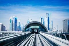 Dubai Metro Royalty Free Stock Images