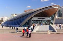 Dubai-Metrostationsverkehr Stockbild