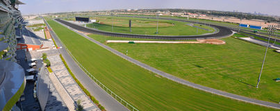dubai meydan racecource uae Royaltyfria Bilder