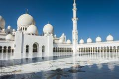 Dubai, mezquita de Jumeirah fotos de archivo