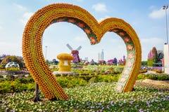 Dubai Miiracle Garden Stock Photography