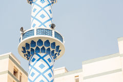 dubai minaretu meczet Obraz Stock