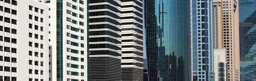 Dubai: Modern Architecture Background Royalty Free Stock Photography