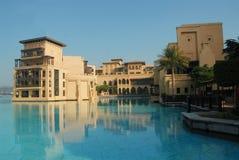 Dubai moderno Foto de Stock Royalty Free