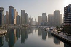Dubai at morning Royalty Free Stock Photo