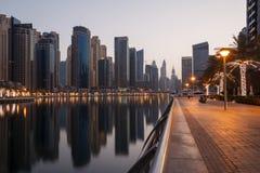 Dubai at morning Stock Photos