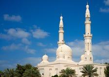 Dubai moské Fotografering för Bildbyråer