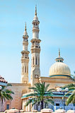 Dubai Mosque 2. The minarets and dome of a Dubai Mosque Stock Images