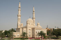 Dubai Mosque Stock Photo