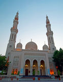 Dubai Mosque 4. A Dubai Mosque at sunset Stock Image
