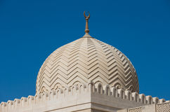 Dubai mosque Royalty Free Stock Photography