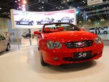 Dubai Motorshow 2009 coches de lujo Fotografía de archivo libre de regalías
