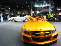 Dubai Motorshow 2009 Luxuxautos Lizenzfreie Stockfotografie