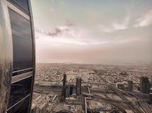 Dubai nattskylin Royaltyfria Foton