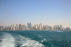Dubai New Town Stock Images