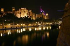 Dubai Night Royalty Free Stock Photos