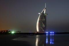 Dubai Night Stock Image