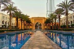 Dubai, Night view Stock Images
