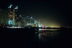 Dubai Nights Royalty Free Stock Photo
