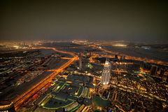 Dubai at nigth Stock Photos