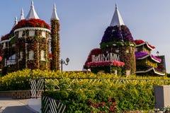Dubai, 17. November 2017 - Garten des Wunder-UAE in Dubai UAE lizenzfreie stockfotos