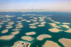 Dubai o Ne da Espanha do panorama de Alemanha Áustria França das ilhas de mundo Imagem de Stock Royalty Free