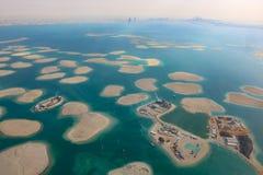 Dubai o pano de Líbano de Suíça de Alemanha Áustria das ilhas de mundo Imagem de Stock Royalty Free