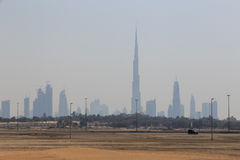 Dubai from the other side Royalty Free Stock Images