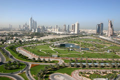 Dubai outdoor view Royalty Free Stock Photography