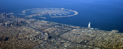 Dubai-Palmeninsel Lizenzfreies Stockfoto