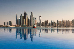 Dubai panorama Royalty Free Stock Photo