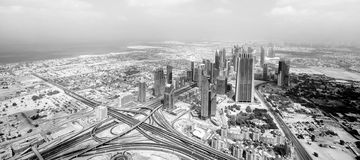 Dubai panorama view Royalty Free Stock Photo