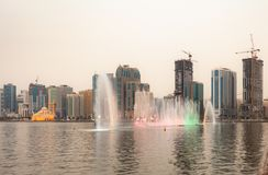 Dubai-Park Lizenzfreie Stockfotografie
