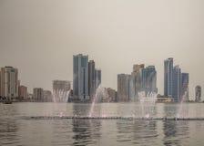 Dubai-Park Stockfoto