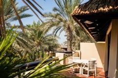 dubai Pendant l'été de 2016 Oasis de l'hôtel de plage de Jumeirah sur le golfe Persique Image stock