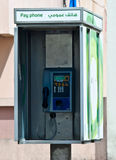 Dubai Phone Booth Royalty Free Stock Photo
