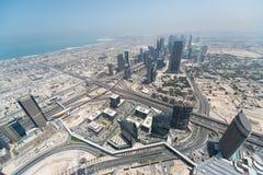 Dubai. Photo taken in Dubai on Burj Khalifa stock photos