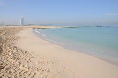 dubai plażowy jemeirah zdjęcie royalty free