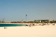 dubai plażowy jumeirah obrazy royalty free