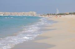 dubai plażowy jumeirah zdjęcia royalty free
