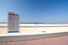 dubai plażowy marina zdjęcia royalty free
