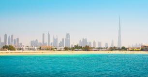 dubai plażowy piękny morze zdjęcia royalty free