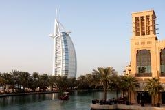 Dubai-Rücksortierung Lizenzfreie Stockbilder
