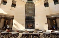 dubai raffles hotelowi wewnętrzni fotografia stock