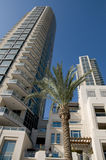 Dubai Residential buildings Stock Images