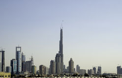 Dubai's Tallest Building Royalty Free Stock Image