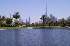 Dubai Safa Park. That's a crazy place Royalty Free Stock Images