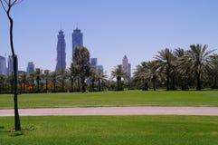 Dubai Safa Park. That's a crazy place Royalty Free Stock Photo