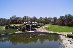Dubai Safa Park. That's a crazy place Royalty Free Stock Photography